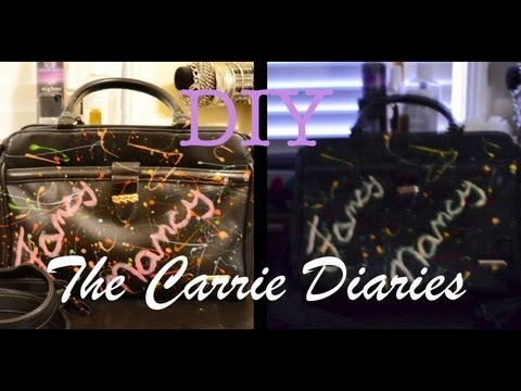 "DIY: ""The Carrie Diaries"" inspired purse"