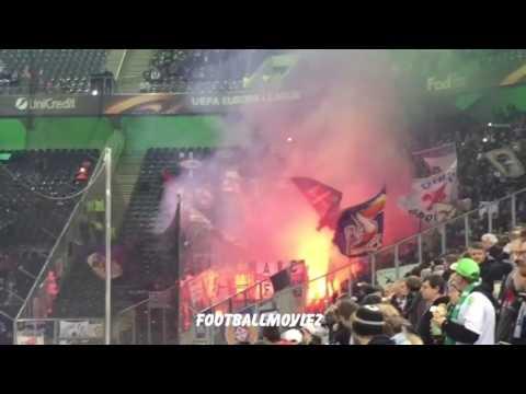Ultras FIORENTINA in trasferta al Borussia Park