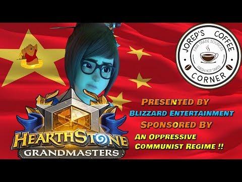 Blizzard Swallows for China, Bans Hong Kong Player, and Chugs Down This Bad Token