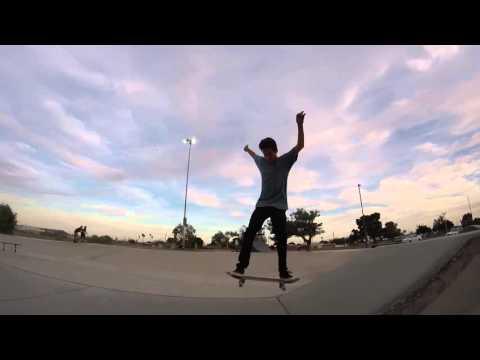 musty at Yuma skatepark!