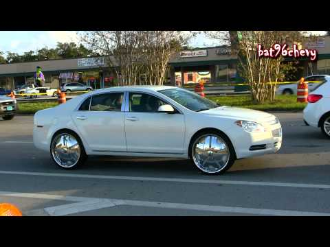 Audi Q7 on DUB 30's, Escalade & SRX on DUB/Davin 28's, Grand Prix & Malibu on DUB 24's - 1080p HD