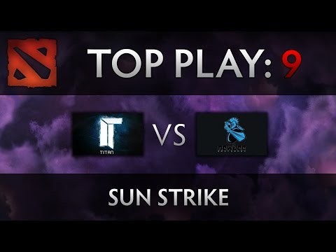 Dota 2 TI4 Top Play – Titan vs Newbee – Sun Strike