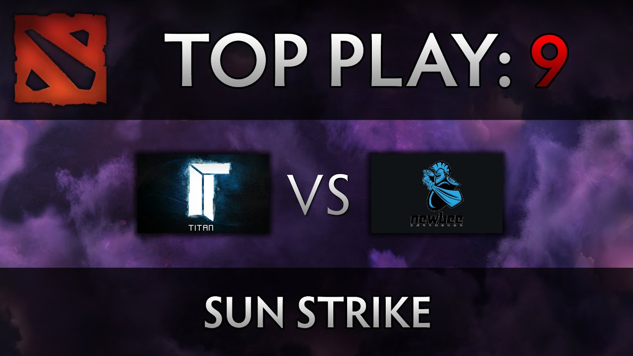Dota 2 TI4 Top Play – Titan vs Newbee – Sun Strike, xemgame