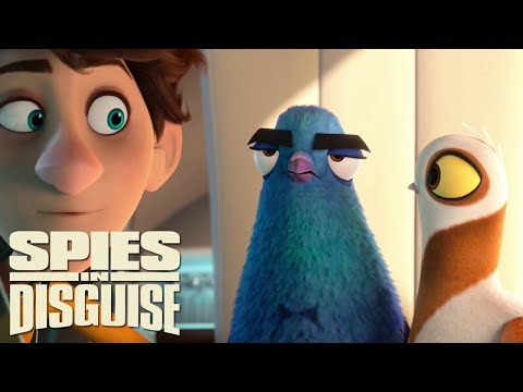 Spies in Disguise 2019 Movie Clips Part 14
