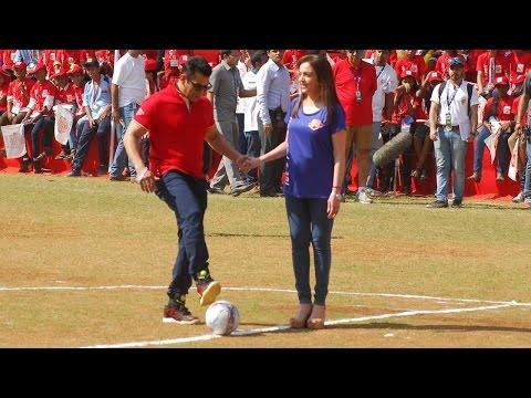 Wow! Salman Khan Plays Football