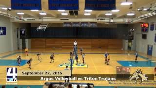Argos Volleyball vs. Triton Trojans