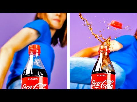 22 COCA COLA HACKS THAT WILL SHOCK YOU || Coca Cola Recipes, Tricks And Food Secrets
