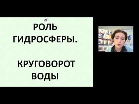 """Организация образовательного процесса по изучению раздела """"Гидросфера"""" средствами УМК издательства «ДРОФА»"""