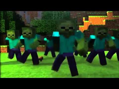 [3D] GANGNAM STYLE en MINECRAFT PSY Baile Animacion Parodia