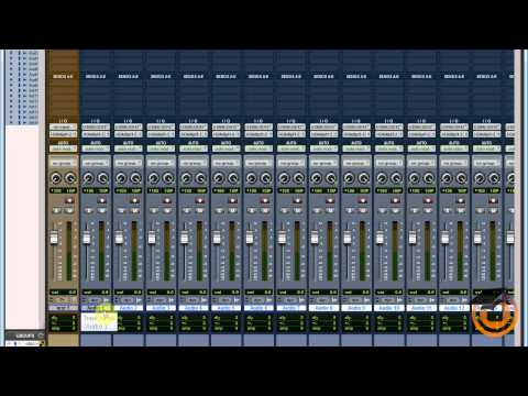 Maschine Routing Audio into Pro Tools for Mixing