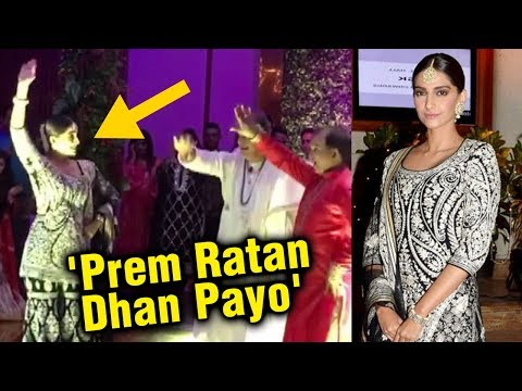 Before Wedding, Sonam Kapoor Dances On 'Prem Ratan