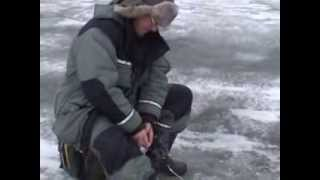 Зимняя рыбалка, Астрахань, январь 2014, Алимовский плес.