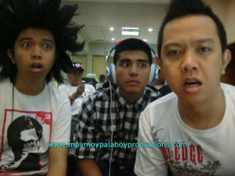 everybody - just hit the SUBSCRIBE button. Also add our facebook page http://www.facebook.com/pages/Moymoy-Palaboy/18771012019 with Mark Herras. Were bored, We made this...