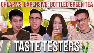 Video CHEAP VS. EXPENSIVE BOTTLED GREEN TEA | Taste Testers | EP 72 MP3, 3GP, MP4, WEBM, AVI, FLV November 2018