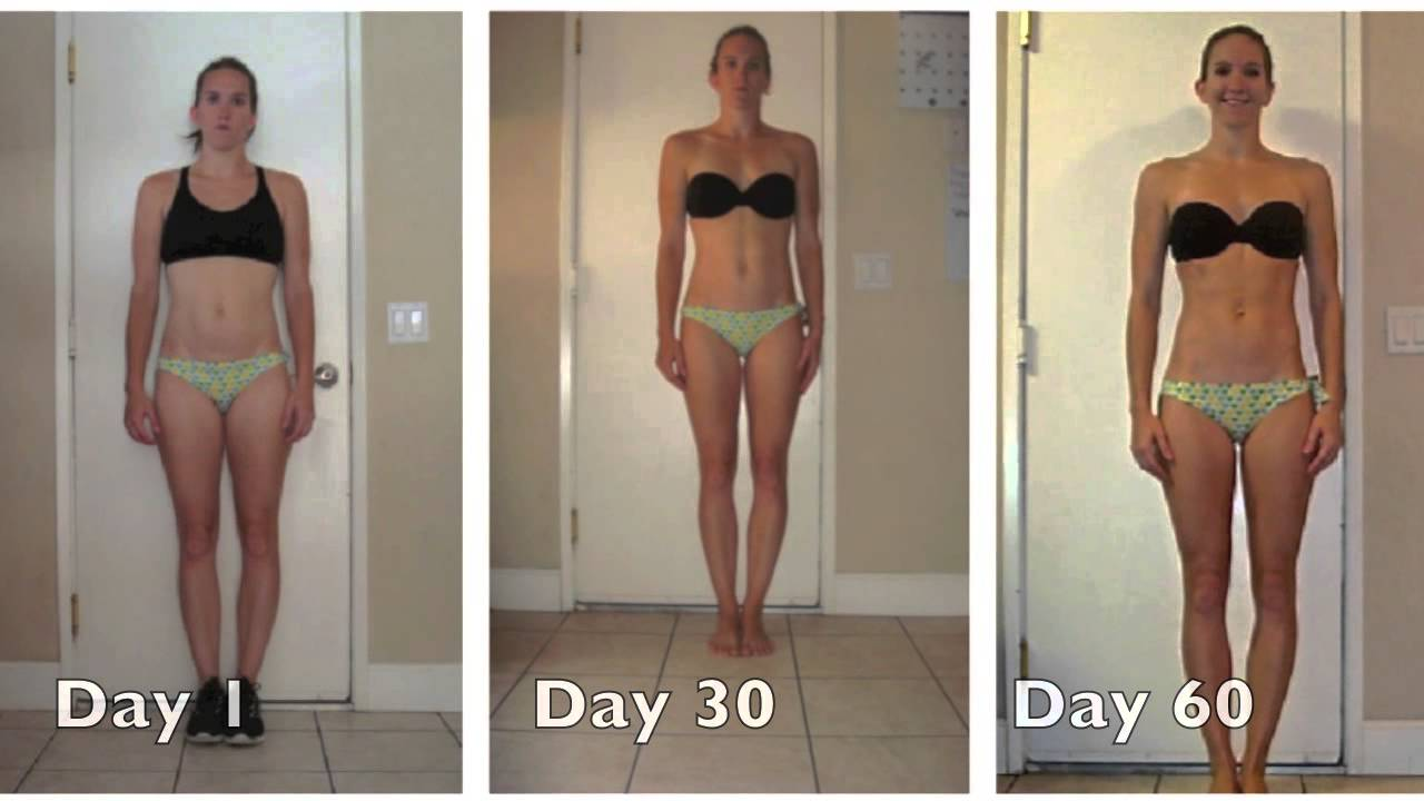 Insanity Women's Results Before and After Insanity Tara Creel The Bombshell Dynasty