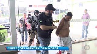 Operação de combate ao tráfico de drogas prende criminosos em várias cidades da região