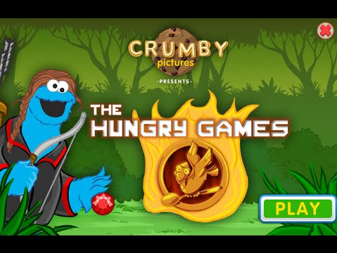 The Hunger Games with Cookie Monster New Latest Game 2014 - Sesame Street | PBS Kids