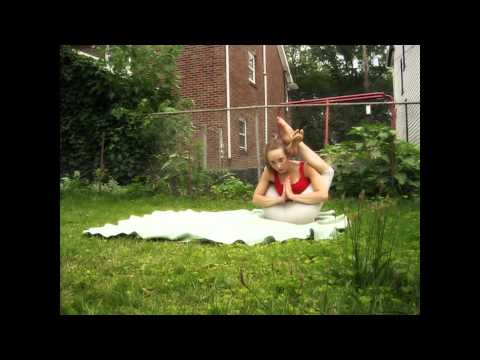 Frontbending in the back yard