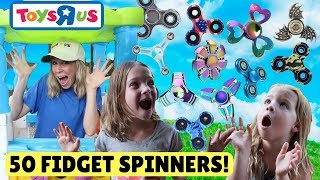 Video Fake Toys R Us Worker Sells 50 Fidget Spinners to Addy and Maya! MP3, 3GP, MP4, WEBM, AVI, FLV Maret 2018