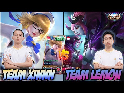 TEAM LEMON VS TEAM XINNN !!! LEMON SERIUS AMAT MAIN NYA JEMBRUTTT !!!