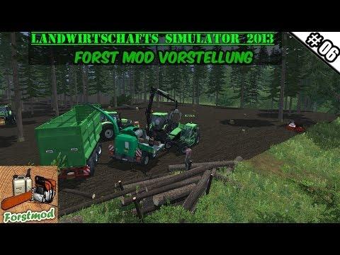 Landwirtschafts Simulator 2013 Forst Mod #06 - Die dicken Stämme ★ Let's Play LS 13 ForstMod