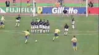 Anders Svenssons Freistoß gegen Argentinien