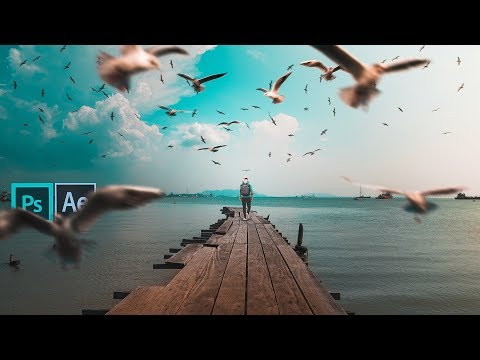 How To Edit And Animate A Photo-Manipulation - Before To After Transition Tutorial | Mo Rez