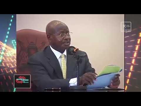 Ugandan President Yoweri Museveni against oral sex