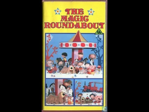Original VHS Opening & Closing: The Magic Roundabout - 1989 Reissue (UK Retail Tape)