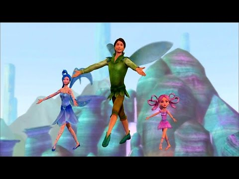 Barbie Fairytopia: Magic of the Rainbow - Learning the Flight of Spring