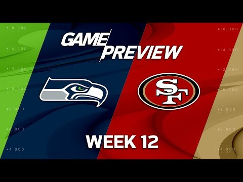 Video: Seattle Seahawks vs San Francisco 49ers | NFL Week 12 Game Preview | Total Access