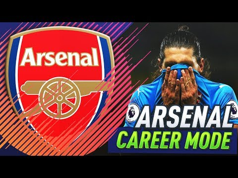 PREMIER LEAGUE TITLE SLIPPING AWAY!?! FIFA 18 ARSENAL CAREER MODE #13