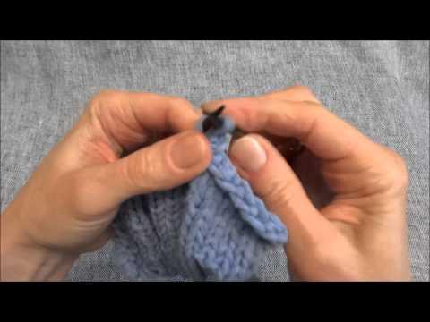 Maschen elastisch abketten – Stretchy Bind Off – Stricken lernen – Learn how to knit