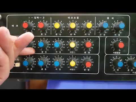 Hướng dẫn chỉnh amply Live 2200A