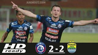Video Arema Fc vs Persib Bandung_(2-2)_Highlight & All Goal_(15-April-2018) MP3, 3GP, MP4, WEBM, AVI, FLV April 2018