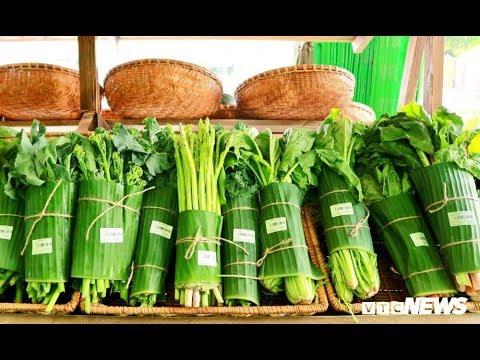 Gói rau bằng lá chuối: Xu hướng xanh được cộng đồng mạng ủng hộ @ vcloz.com
