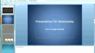 Microsoft Powerpoint Advanced Features