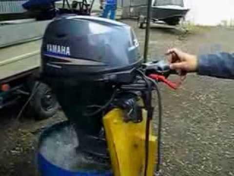 правильная обкатка двухтактного лодочного мотора