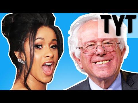 "Bernie Sanders: ""Cardi B Is Right."""