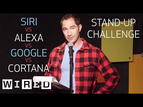 StandUp Comedy Using Only Siri Alexa Cortana and Google