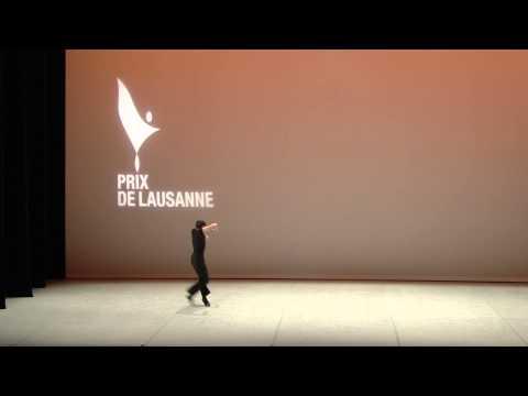 Miguel Pinheiro - 2015 Prix de Lausanne Prize Winner - Contemporary variation