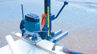 Самодельный фрезерный станок по дереву своими руками.Часть 1 Homemade milling machine for wood.
