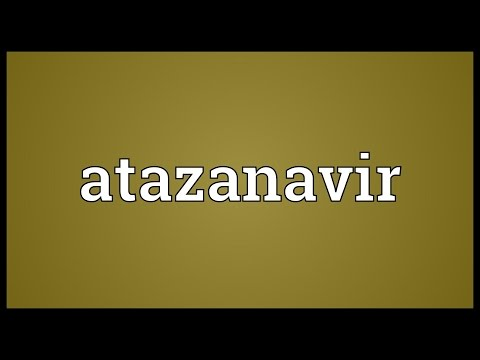 Atazanavir Meaning