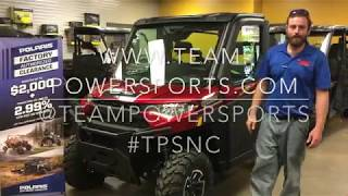 7. 2018 Polaris Ranger Northstar Ride Along