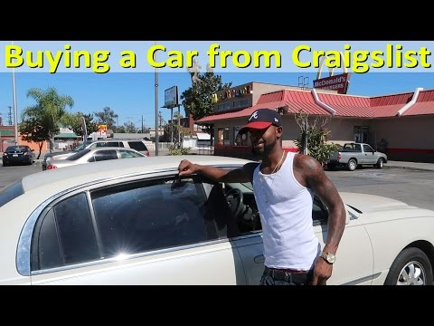 How to Buy a Car on Craigslist Real Example