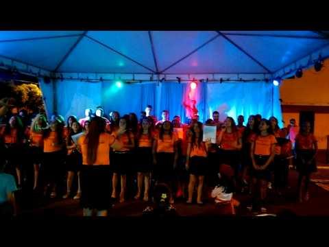 Coral Primeiro encontro de jovens em Porteirão