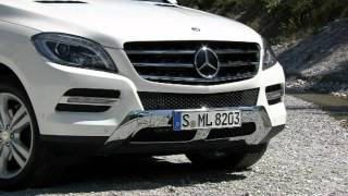 2012 Diamond White Mercedes-Benz ML 250 BlueTEC 4MATIC Driving