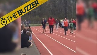 This awesome moment from a special olympics race will warm you heart by @The Buzzer
