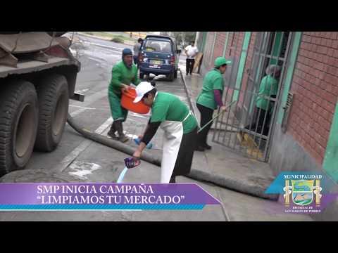 """CAMPAÑA """"LIMPIAMOS TU MERCADO� DEL PROGRAMA MERCADOS SALUDABLES"""