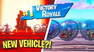 So I Won a Game of Fortnite ONLY in the *NEW* BALLER Vehicle